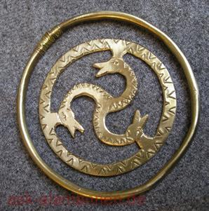 Alamannische Amulettscheibe