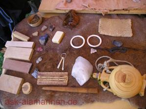 Handelsware in alamannischer Zeit