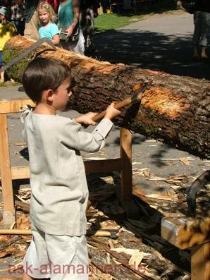 Nachwuchs Holzhandwerker