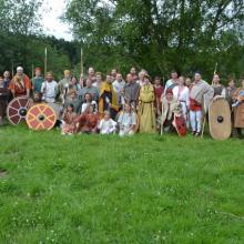 Gruppenbild der Stämme, Sippentreffen, Ravensburg 2013