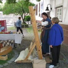 Webstuhl, Internationaler Museumstag Gerlingen 2014