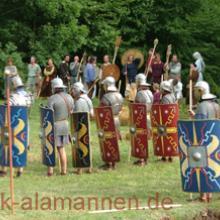 Römer und Alamannen auf dem Schlachtfeld