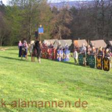 Römer auf dem Feld