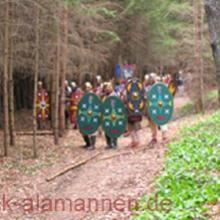 Römer im Wald