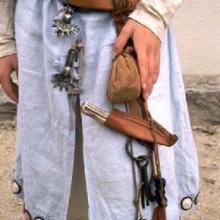 Alamannische Frauentracht 6. Jhd