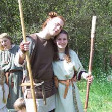 Landogar und seine Frau, Fotoshooting 2007
