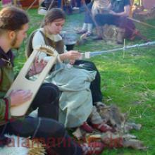 Beim Musizieren, Duisburg 2007
