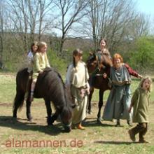 Kinderbespassung, Allthing, Gomadingen 2008
