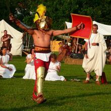 Gladiatoren, St. Romain de Gal 2008